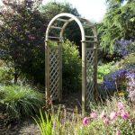 Blooma Chiltern Wooden Garden Arch 2.5 x 1.24 x 0.65