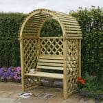 Blooma Chiltern Wooden Arbour 1.99 x 1.34 x 0.8
