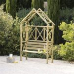 Blooma Cottage Wooden Arbour 2.2 x 1.55 x 0.56