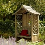 Blooma Elegant Wooden Arbour