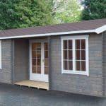 Shire Elvededen Log Cabin