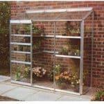 Halls Greenhouses Aluminium Lean-To Greenhouse