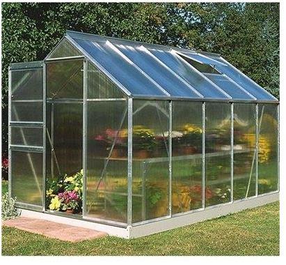 Halls Greenhouses Popular Polycarbonate Greenhouse