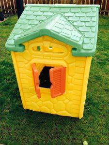 Little TIkes Magic doorbell plastic playhouse side