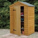 Larchlap Overlap Wooden Shed Without Window