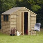 Pressure Treated Overlap Wooden Shed 7 x 7