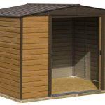 + Base: Rowlinson Woodvale Metal Shed 10 x 12