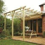 Sienna Wooden Canopy