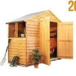 The BillyOh 20M Rustic Economy Apex Shed