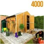 The BillyOh 4000M Windowless Apex Shed Large