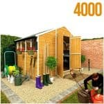 The BillyOh 4000S Tongue and Groove Shed