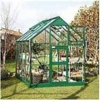 """The Eden Horticultural Glass """"Acorn"""" Greenhouse 8 x 6"""
