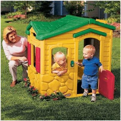 Little Tikes Magic Doorbell Plastic Playhouse