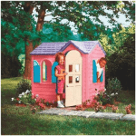 Little Tikes Pink Plastic Country Cottage Playhouse