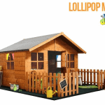 The Mad Dash 400 Lollipop Wooden Playhouse