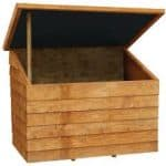 Blooma Overlap Wooden Tool Chest With Plastic Roof