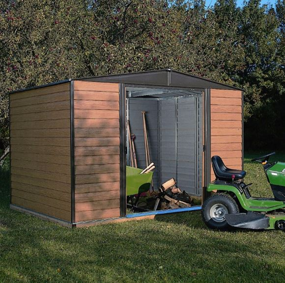Rowlinson Woodvale 10 x 12 Apex Metal Sheds