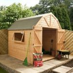 8′ x 8′ Double Door Premier Tongue and Groove Dutch Barn Shed
