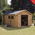 20′ x 10′ Shiplap Tongue and Groove Workshop Shed