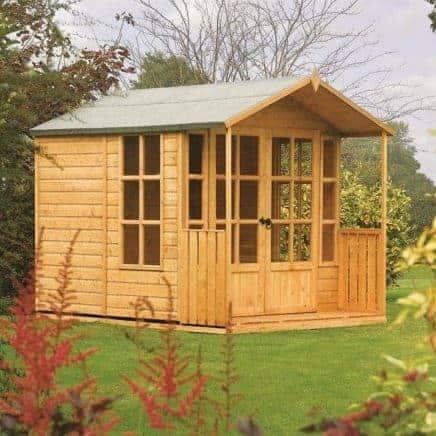 8′ x 7′ Rowlinson Arley Summer House