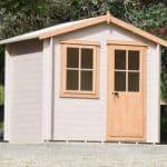 9′ x 9′ Shire Avesbury Log Cabin