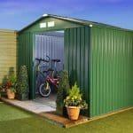 BillyOh Beeston 8′ Fronted Premium Metal Sheds