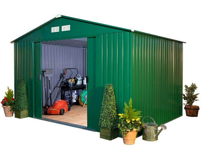 BillyOh Clifton 10′ Fronted Premium Metal Sheds