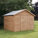 10 x 10 Waltons Groundsman Windowless Tongue and Groove Workshop Overall View