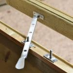 10' x 8' Shed-Plus Champion Heavy Duty Apex Single Door Shed Window Latch