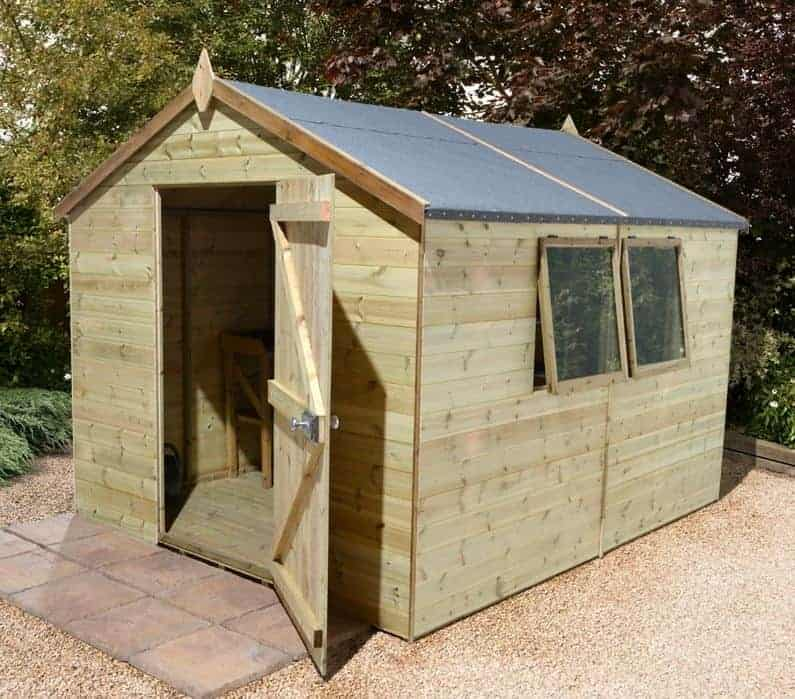 10′ x 8′ Shed-Plus Champion Heavy Duty Apex Single Door Shed