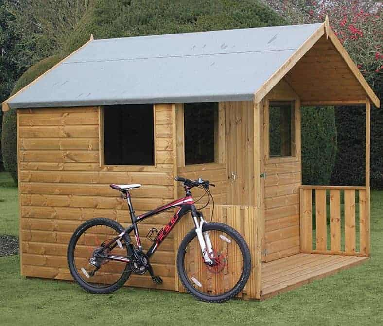 10′ x 8′ Traditional 8′ Cabin Shed