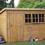 10′ x 8′ Traditional Heavy Pent Shed