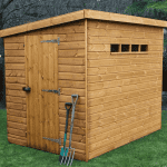 10′ x 8′ Traditional Pent Security Shed