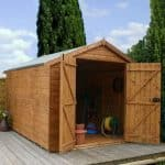 10 x 8 Waltons Windowless Groundsman Tongue and Groove Apex Garden Shed