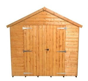 12' x 8' Shed-Plus Heavy Duty Shed Workshop Front