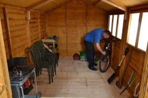 12' x 8' Shed-Plus Heavy Duty Shed Workshop Internal