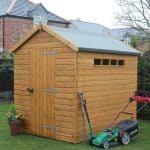 12′ x 8′ Traditional Apex Security Shed