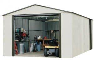 12'2 X 9'9 Arrow Murryhill VT1210 Metal Garage Open Door