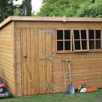 14′ x 8′ Traditional Heavy Pent Shed