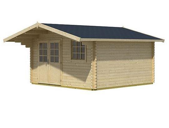 3.60 x 3.00 Gotland 2E Log Cabin