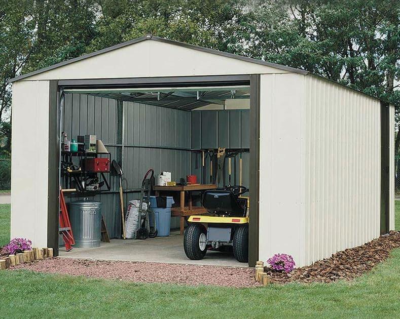12'2 X 9'9 Arrow Murryhill VT1210 Metal Garage