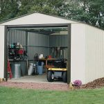 12'2 x 24'1 Arrow Murryhill VT1224 Metal Garage