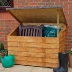 4′ x 3′ Store-Plus Wooden Overlap Tool Storage Chest