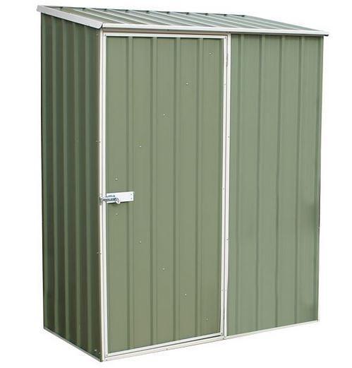 5′ x 2′ 7″ Waltons Pale Eucalyptus Easy Build Pent Metal Shed