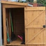 5′ x 3′ Traditional Pent Tool Store Shed
