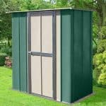 6′ x 3′ Store More Canberra Utility Metal Shed