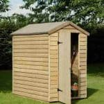 6′ x 4′ Shed-Plus Pressure Treated Overlap Security Shed