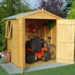 6′ x 6′ Shire Double Door Garden Shed – Arran