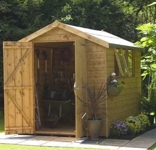 6 x 6 Waltons Shiplap Tongue and Groove Apex Garden Shed