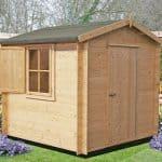 6'10 x 6'10 GardenStyle Camelot Log Cabin